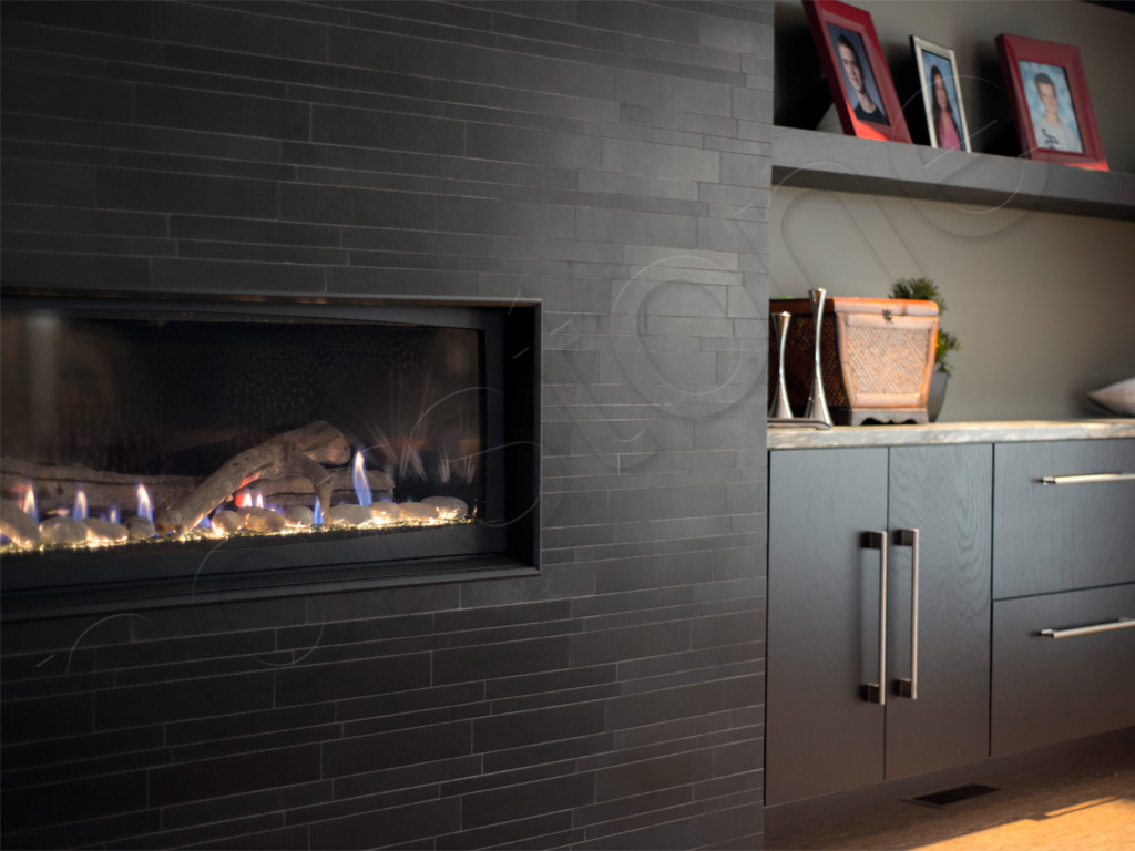 Basalt IL Ebony Fireplace 4