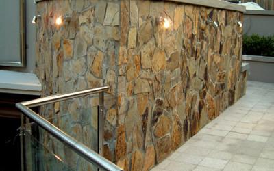 Norstone Ochre Monarostone natural stone wall cladding