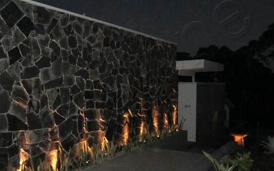 Norstone Charcoal Monarostone wall cladding