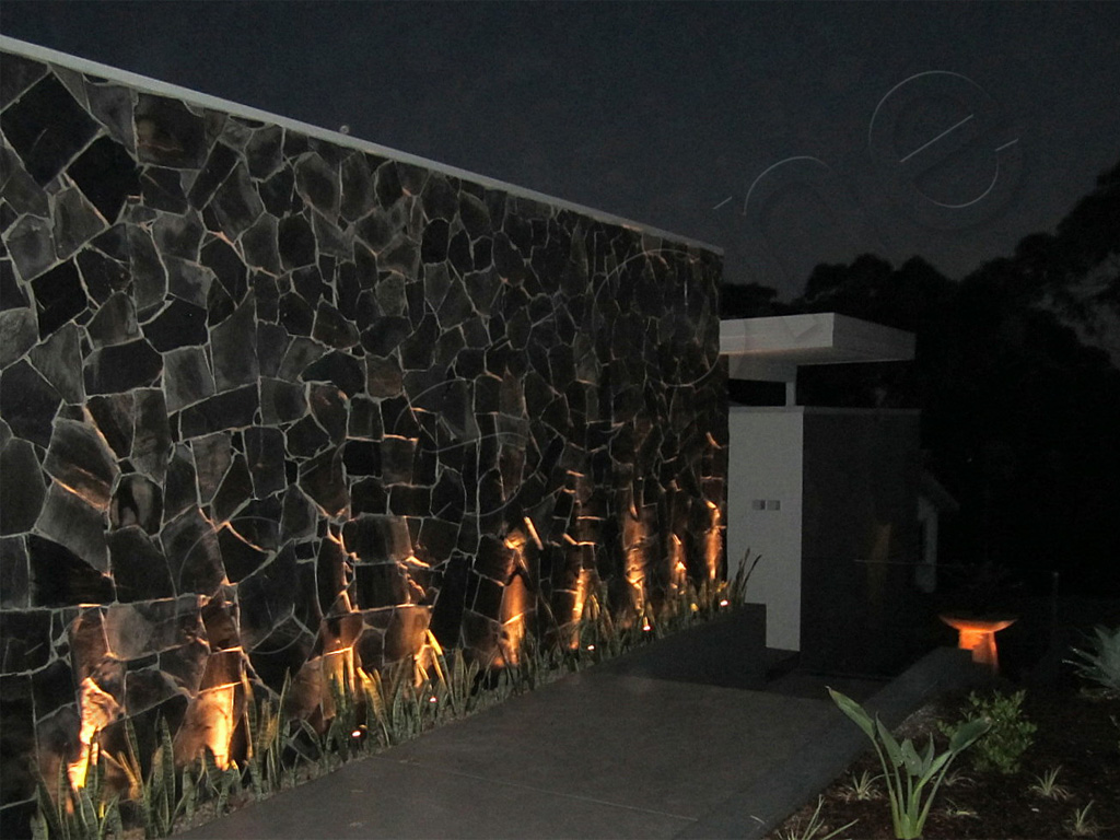 Norstone Charcoal Monarostone wall cladding