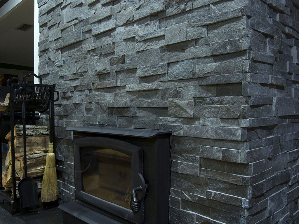 Rock Panels - Stacked Stone veneer wall cladding for interior and ...