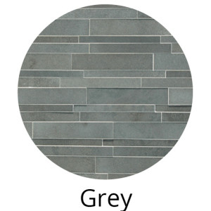 Grey Basalt 3D Panel by Norstone