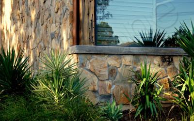Norstone Ochre Monarostone natural stone wall cladding exterior 2
