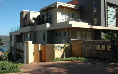 Norstone Ochre Monarostone wall cladding exterior 1