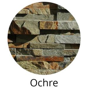 Ochre Rock Panel by Norstone