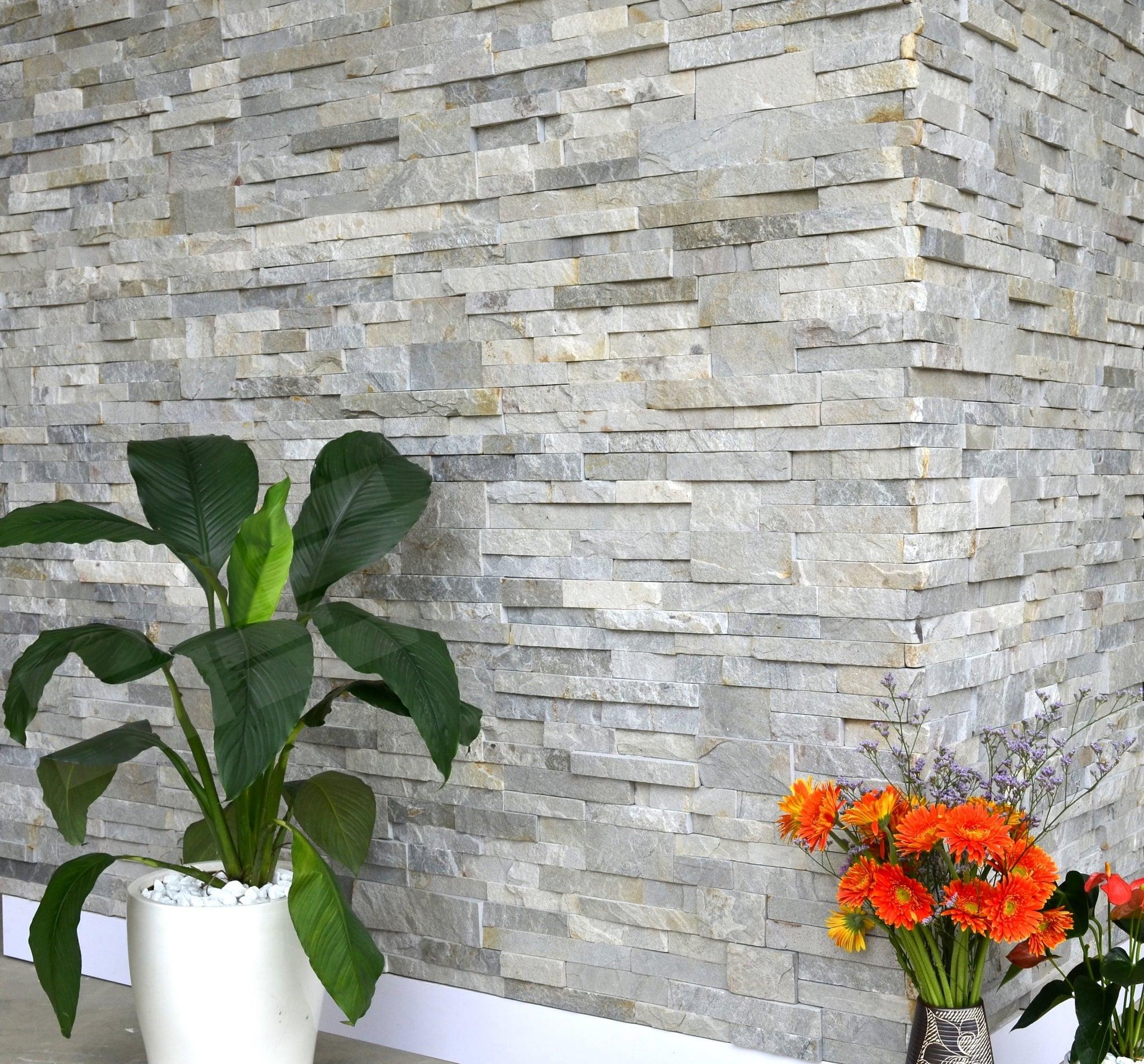 Sierra colour Stack Stone Panels