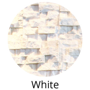 Ivory Rock Panels by Norstone