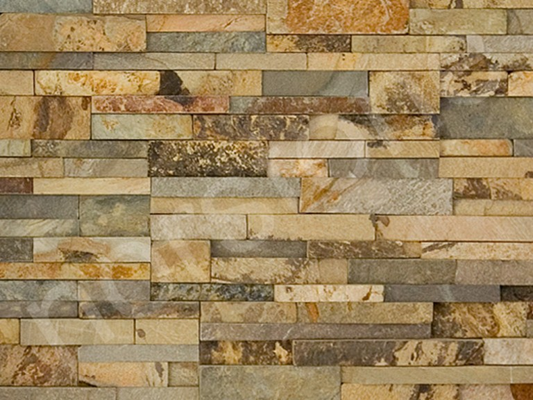 Ochre Colour Standard Rock Panels